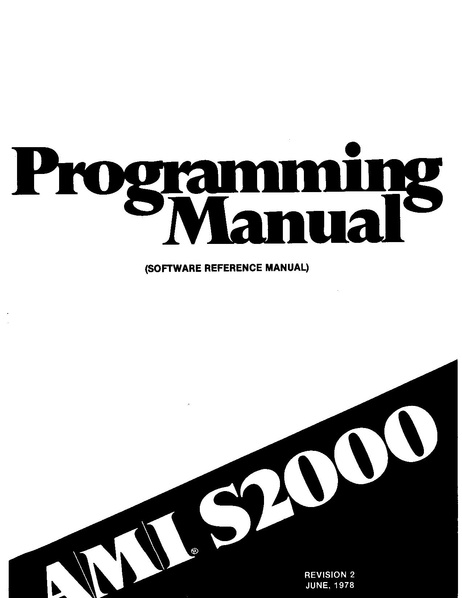 File:AMI S2000 Programming Manual Rev2 (june 1978).pdf