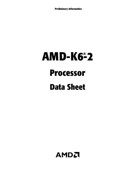 File:AMD-K6-2 Processor Data Sheet (February, 2000).pdf