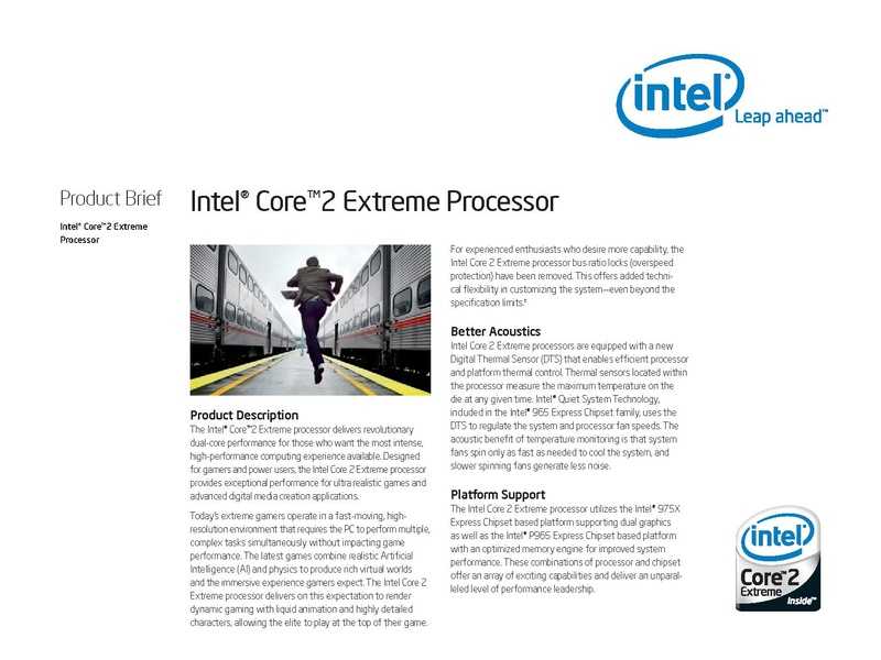 File:Intel(R) Core(TM)2 Extreme Processor Product Brief.pdf